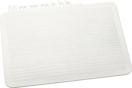 Deska śniadaniowa Happy Boards Mmmmhhh... biała