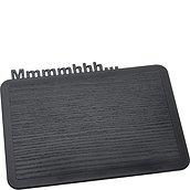 Deska śniadaniowa Happy Boards Mmmmhhh... czarna
