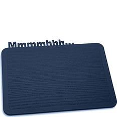 Deska śniadaniowa Happy Boards Mmmmhhh... welwetowy błękit