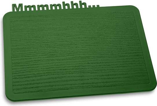 Deska śniadaniowa Happy Boards Mmmmhhh... zieleń leśna
