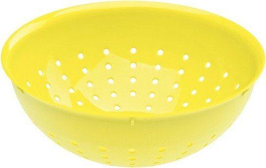 Durszlak 20 cm limonkowy