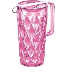 Dzbanek Crystal różowy