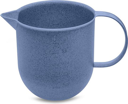 Dzbanek z miarką Palsby Organic 1,2 l niebieski
