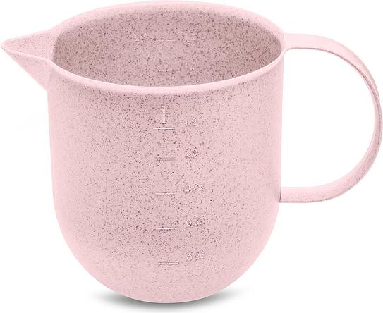 Dzbanek z miarką Palsby Organic 1,2 l różowy