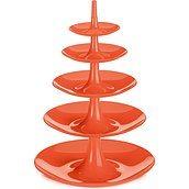 Etażerka Babell Big pomarańczowoczerwona