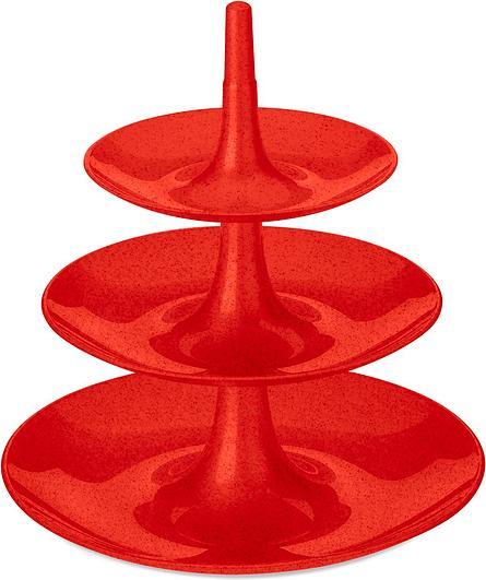 Etażerka Babell Organic L czerwona