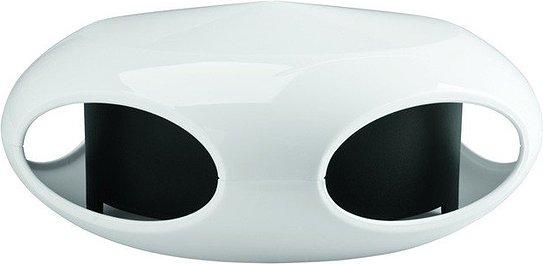 Karmnik dla ptaków Pi:P biało-czarny