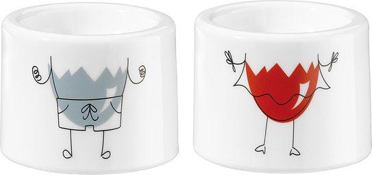 Kieliszek do jajek i-CUP 2 szt. Mr. & Mrs.
