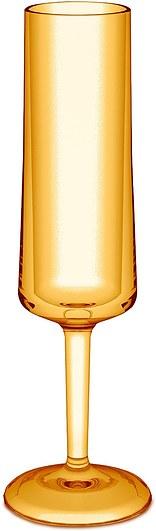 Kieliszek do szampana Cheers Koziol amber