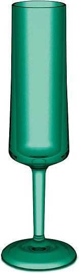 Kieliszek do szampana Cheers Koziol emerald