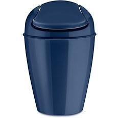 Kosz na śmieci Del S welwetowy błękit