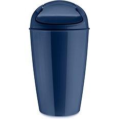 Kosz na śmieci Del XL welwetowy błękit
