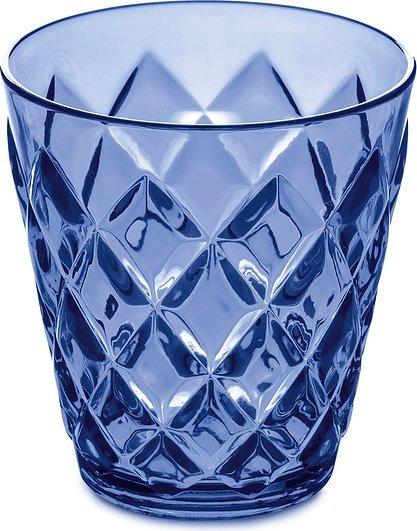 Kubek Crystal S niebieski przezroczysty