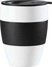 Kubek termiczny Aroma To Go 2.0 biało-czarny