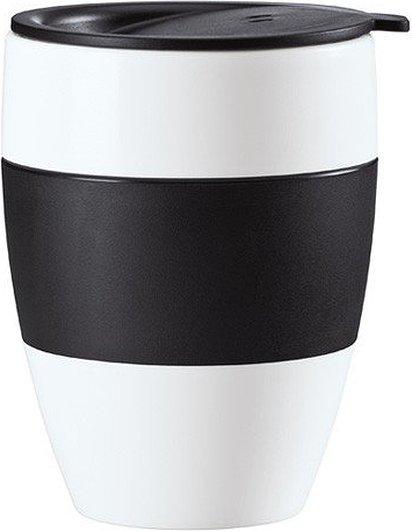 Kubek termiczny Aroma To Go z pokrywką czarny