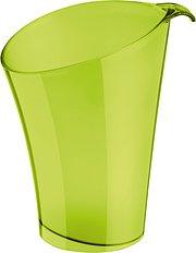 Kubełek na butelkę Pure oliwkowy transparentny