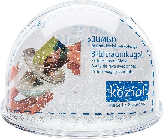 Kula śnieżna Dream Globe z wkładką na zdjęcie 10 cm
