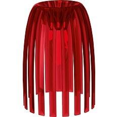 Lampa Josephine S  2.0 przezroczysta czerwona