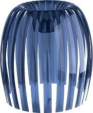 Lampa Josephine XL 2.0 przezroczysta welwetowy błękit