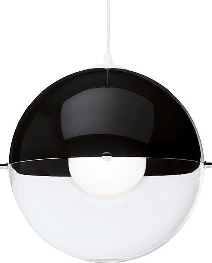 Lampa Orion czarna nieprzezroczysta