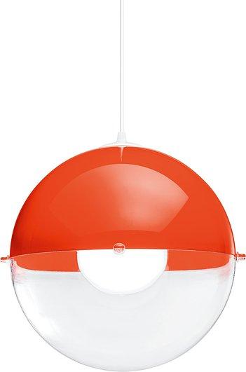 Lampa Orion pomarańczowa