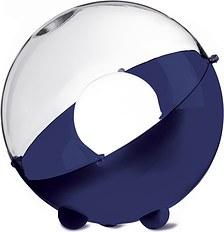 Lampa podłogowa Orion welwetowy błękit