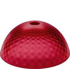 Lampa Stella Silk XL przezroczysta czerwona
