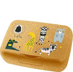 Lunchbox dziecięcy Connect Organic Zoo