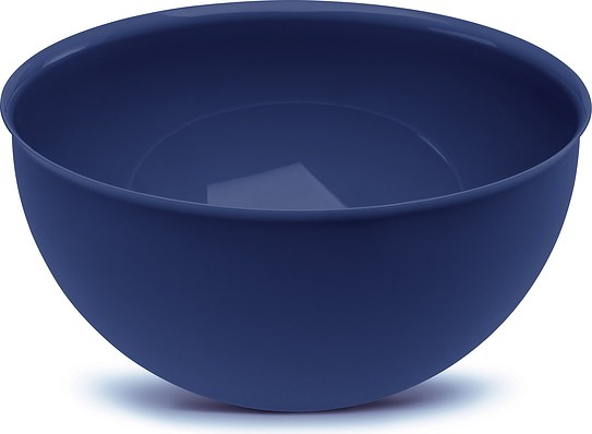 Miska 28 cm welwetowy błękit