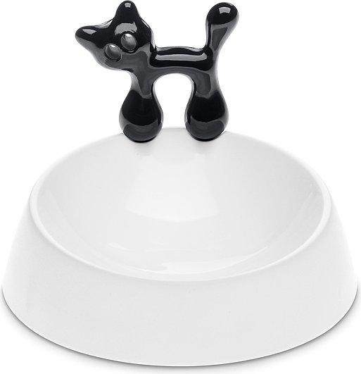 Miska dla kota Miaou biało-czarna