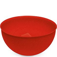 Miska Palsby L Organic czerwona