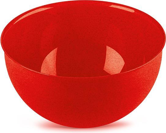 Miska Palsby Organic M czerwona
