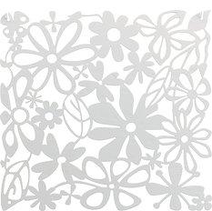 Panel dekoracyjny Alice 4 szt. biały