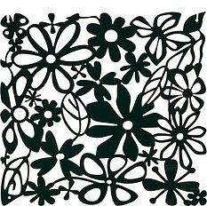 Panel dekoracyjny Alice 4 szt. czarny