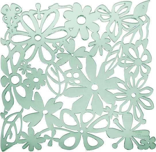 Panel dekoracyjny Alice 4 szt. zieleń eukaliptusowa