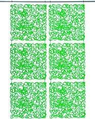 Panel dekoracyjny Fusion zielony