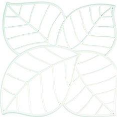 Panel dekoracyjny Leaf biały