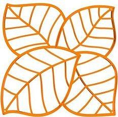 Panel dekoracyjny Leaf brązowy