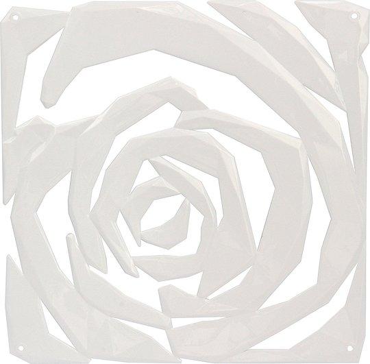 Panel dekoracyjny Romance 4 szt. biały