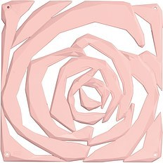 Panel dekoracyjny Romance 4 szt. pastelowy róż