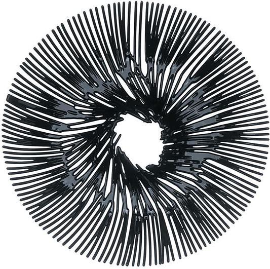 Patera Anemone czarna