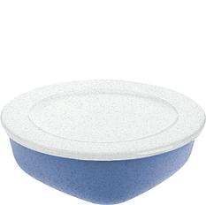 Pojemnik Connect Organic 1,3 l niebieski z białą pokrywką