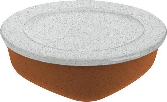 Pojemnik Connect Organic 1,3 l rdzawy brąz z pokrywką