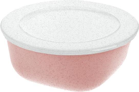 Pojemnik Connect Organic 700 ml różowy z pokrywką
