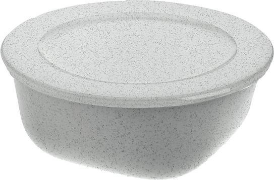 Pojemnik Connect Organic 700 ml szary z pokrywką
