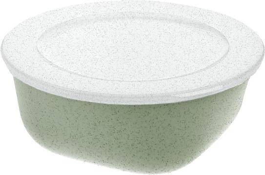 Pojemnik Connect Organic 700 ml zielony z pokrywką