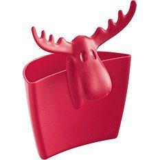 Pojemnik na kubek Rudolf malinowy