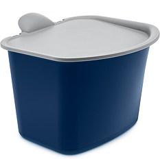 Pojemnik na odpadki Bibo welwetowy błękit