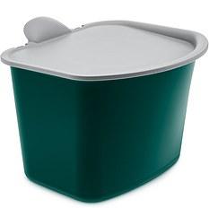 Pojemnik na odpadki Bibo zieleń emerald