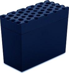 Pojemnik na pieczywo chrupkie Brod welwetowy błękit